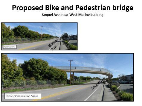 Proposed Bike and Pedestrian Bridge